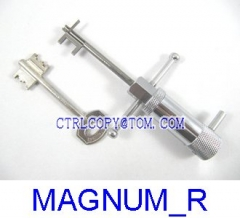 MAGNUM New Convertional Lock pick Method Right side
