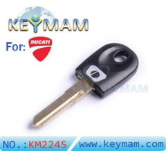 Ducati motocycle transponder key shell